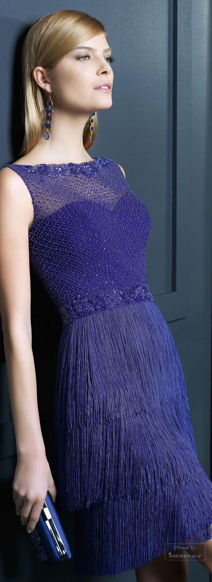 35 best vestidos con flecos images on Pinterest   Fringes, Party ...