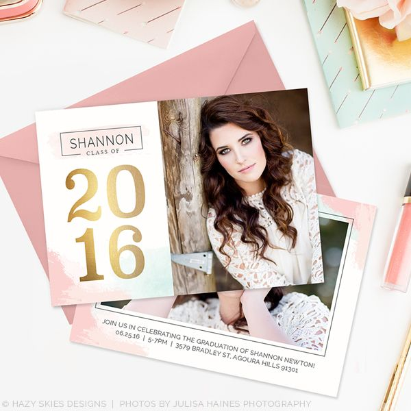 Best Senior Marketing Templates  Graduation Announcement