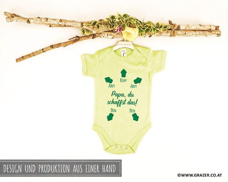 Bodys - Babybody mit Spruch | 8 - ein Designerstück von Dr_Grazer_und_Co bei DaWanda