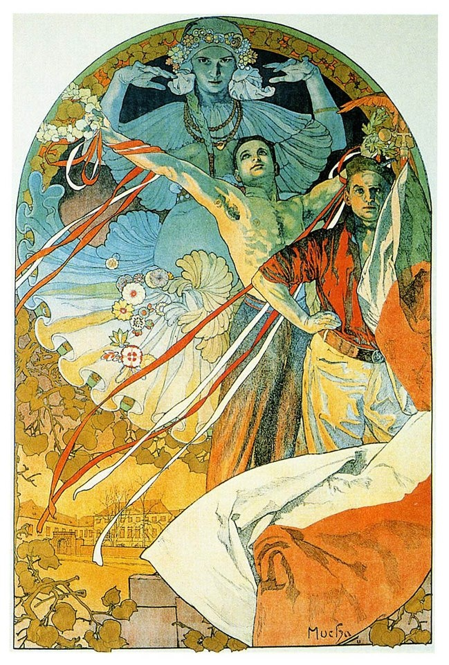 """analysing the art nouveau movement Art nouveau, like its predecessors and successors was an international movement, called """"jungenstil"""" in germany and the """"liberty style"""" in england, for example, and encompassed painting."""