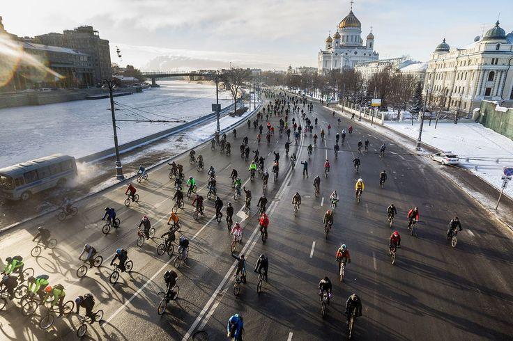 The Christmas Bike Parade