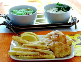 Retete: PESTE CU CARTOFI PRAJITI - FISH AND CHIPS
