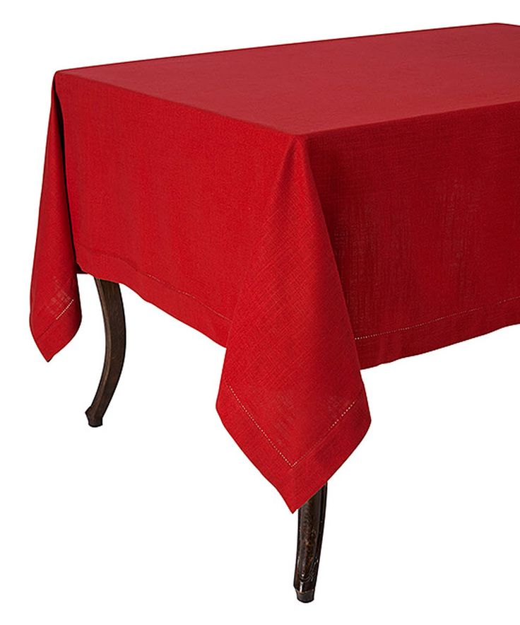 Look what I found on #zulily! Red Rustic Tablecloth by KAF Home #zulilyfinds