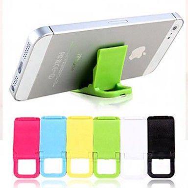 Sostenedor plegable para iPhone (color al azar)  – USD $ 0.99