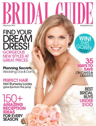 20 best weddings bride magazine cover images on pinterest bridal guide is for the contemporary bride to be focusing on current trends in fashion beauty home design and honeymoon travel simply complete the form junglespirit Images