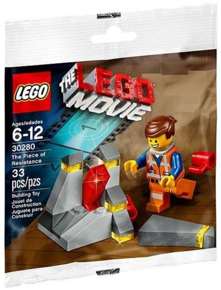 Lego The Piece of Resistance LEGO Movie Set 30280 with Emmet Minifigure! BNIP #LEGO