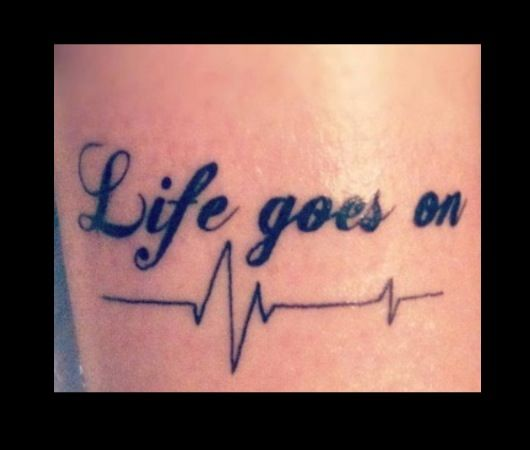 Tattoo Life Goes On: 97 Best Images About Heart Beat Tattoos On Pinterest