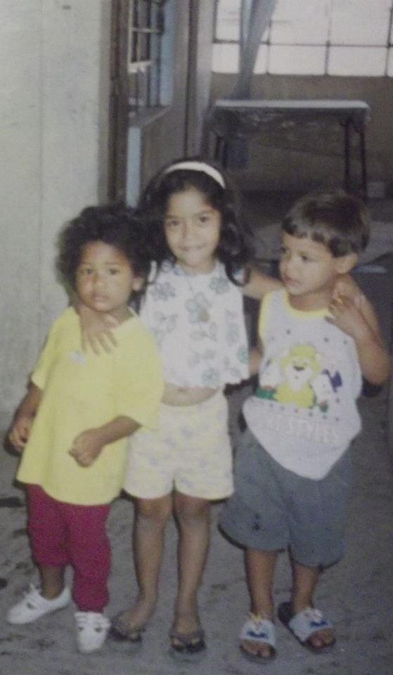 Me, Annie and Harold. Love you friends♥