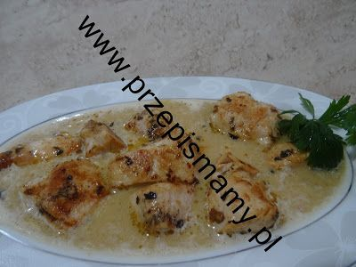 www.przepismamy.pl: Filet z kurczaka w sosie cebulowo - śmietankowym