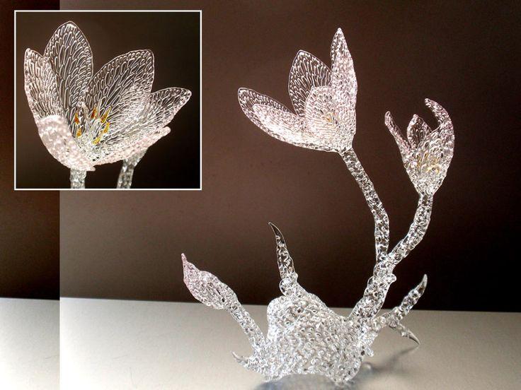 Colchicum  #glassart #glass #glassflower #colchicum #イヌサフラン #コルチカム