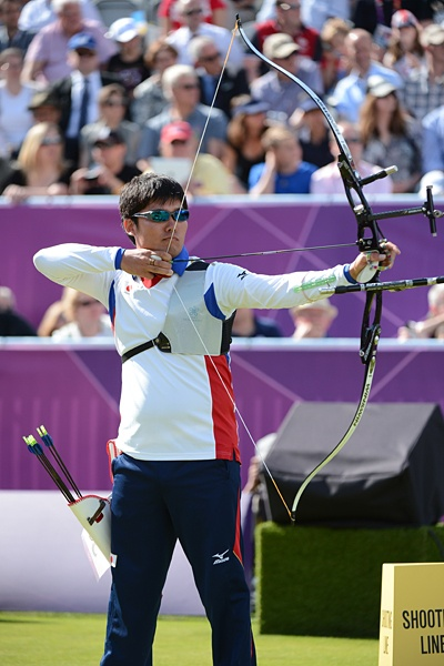 Takaharu Furukawa,a silver medalist of Archery,London Olympic 2012@正確無比なショットで銀メダルを獲得した古川高晴。~ロンドン五輪2012~