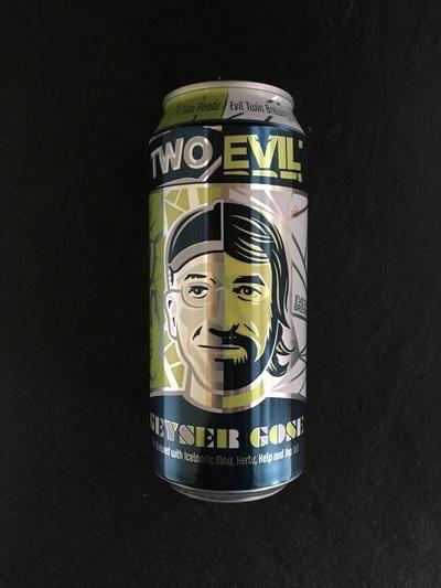 Two Roads-Two Evil Geyser Gose-Sour / Wild / Fruit @ Beer Republic • Order it / Buy it / Bestel het / Kauf es / Achete . Amerikaans • Canadees • Nieuw Zeelands bier bestellen online. Buy American • Canadian • New Zealand beer online. Online bier coffin. Acheter bierre online.