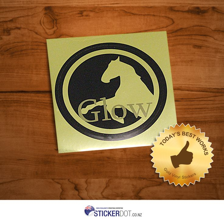 Keen on having this brilliant #vinylsticker? Order #Gold #Vinyl #Stickers now for as low $162 only! Best applied for labelling products, electronics and electrical appliances.