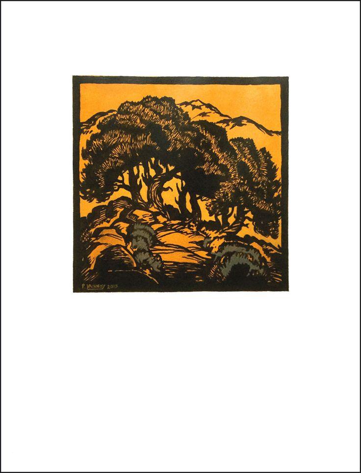 """Extérieur N°9 Acrylic on paper 65 x 50 cm 25""""19/32 x 19""""11/16 40 €"""