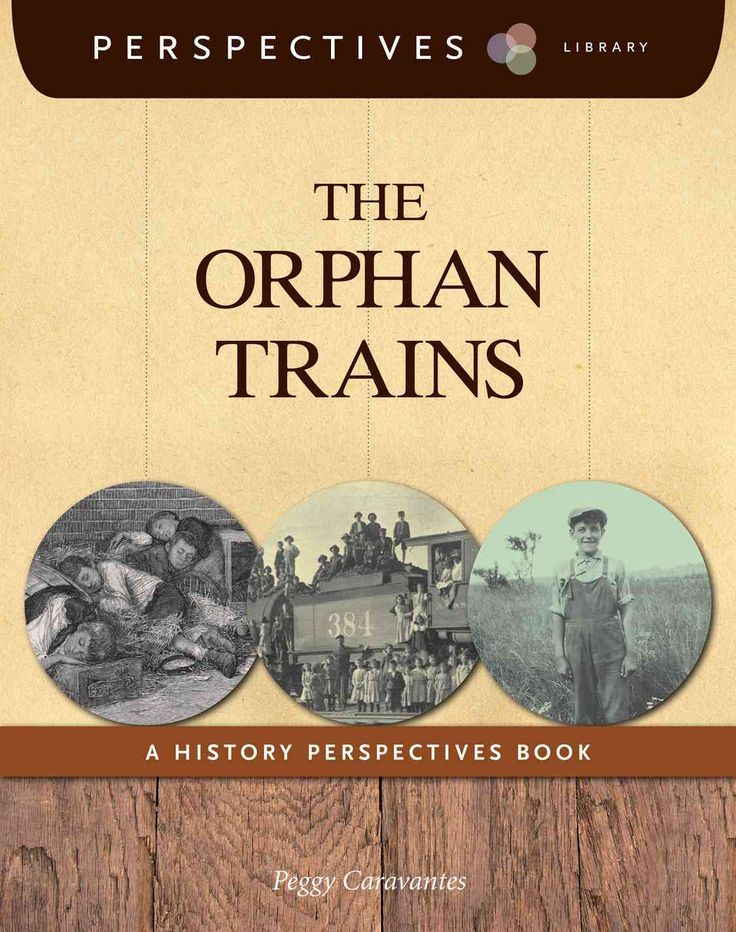 This book relays the factual details of the orphan trains that sent East Coast orphans to be with families in the Midwest and West. The narrative provides multiple accounts of the event, and readers l