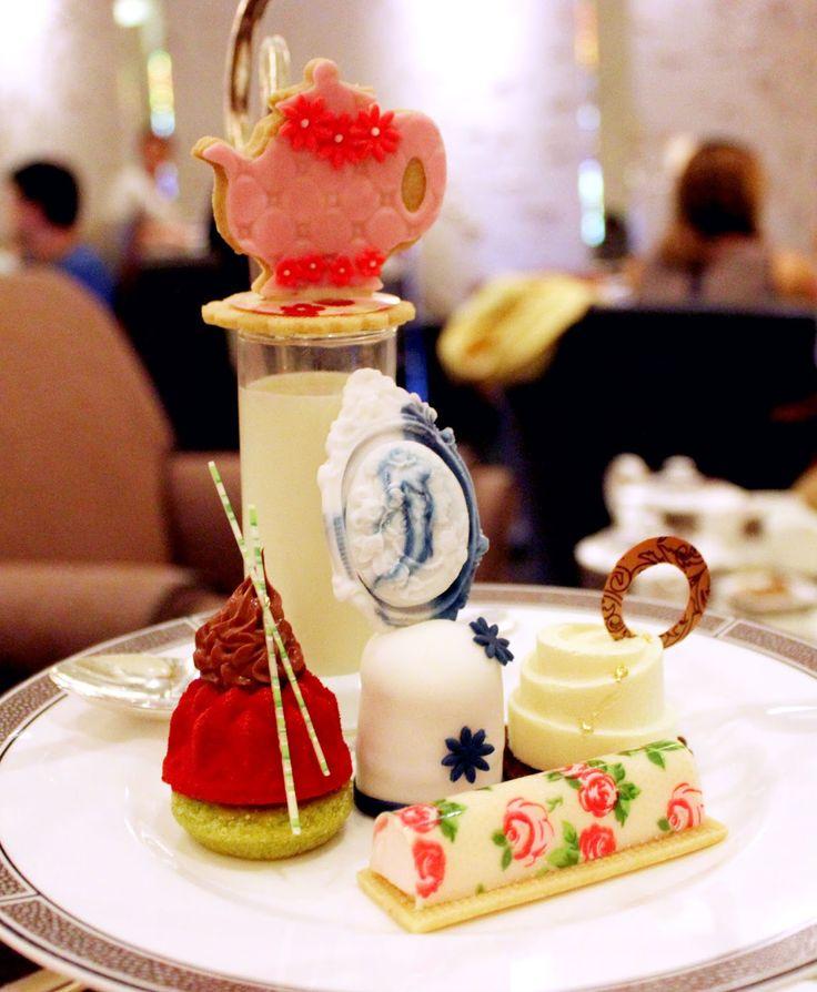 (Afternoon tea) The Langham Hotel #London