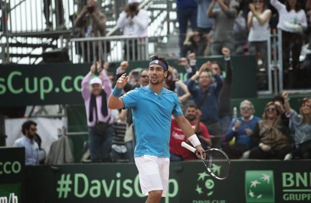 Coppa Davis: show di Fognini e l'Italia del tennis vola in semifinale   © Machi di Pace - Campania su Web