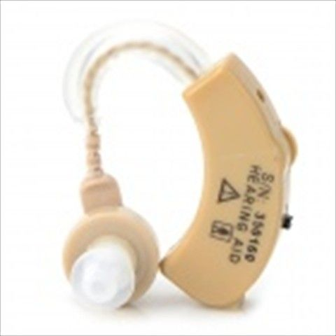 XINGMA XM-907 Ear-hook Style Wireless Hearing Aid - Buff (3 x LR44)