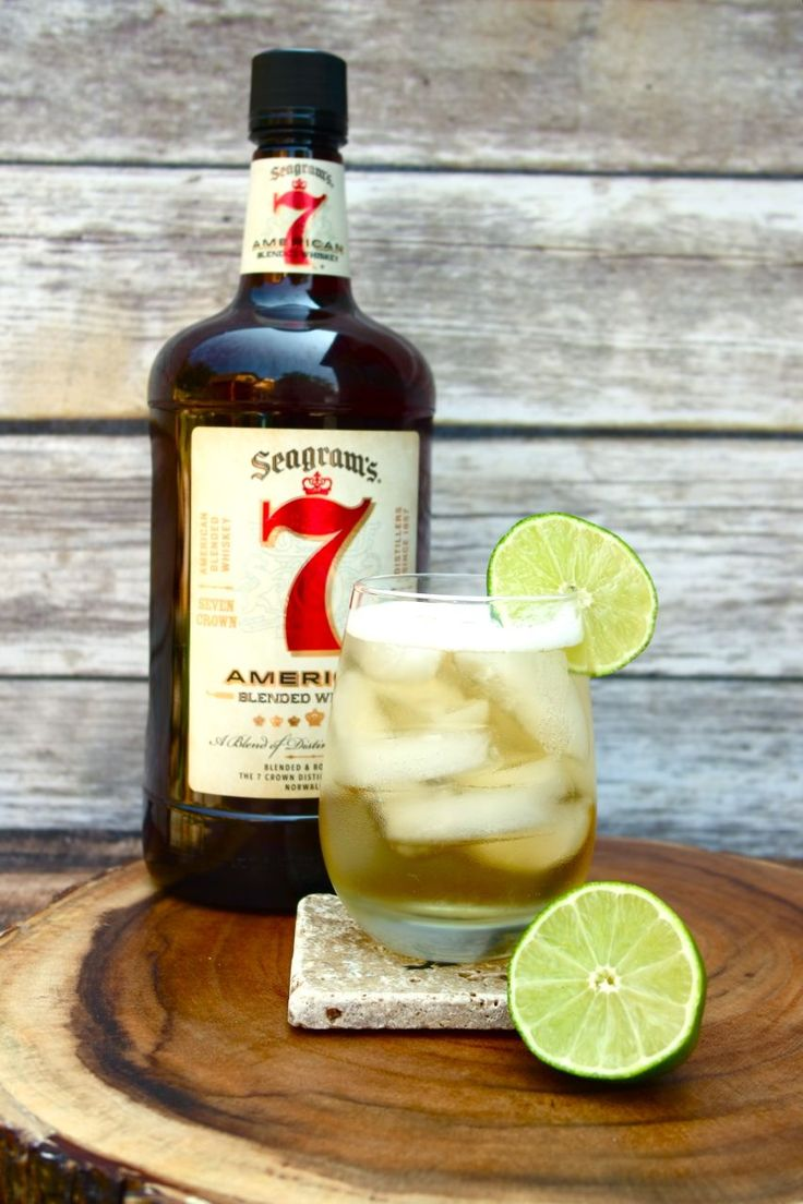 Seagrams 7 and Ginger Beer Cocktail This is my spin on a traditional Moscow Mule and it is delicious and refreshing. Having a smooth flavor profile this Seagrams 7 is perfect for my taste.