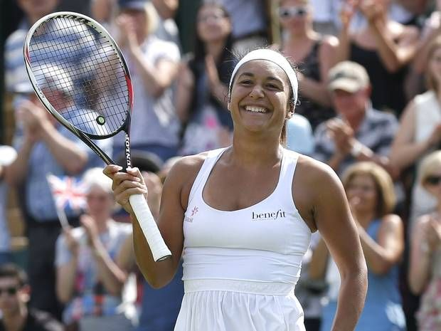 Watson is the sole remaining British competitor left in the women's singles. 26/06/2014