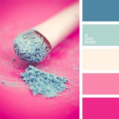 color fucsia, colores fucsia y azul celeste, colores neón, colores para la decoración, paletas de colores para decoración, paletas para un diseñador, tonos rosados y celestes, tonos vivos y contrastantes de colores celeste y rosado.