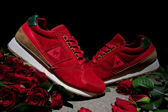 "Le coq sportif Eclait ""Rose-Exd"" - released on 26 September, 2014 #lecoqsportif #sneakerfreaker #highsnobiety #nicekicks #essentialhomme #limitededition #rose  #barcelona ☀️ #sneakers"