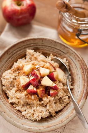 Overnight slow cooker oatmeal - Love that this is so customizable.  I can make it even healthier.
