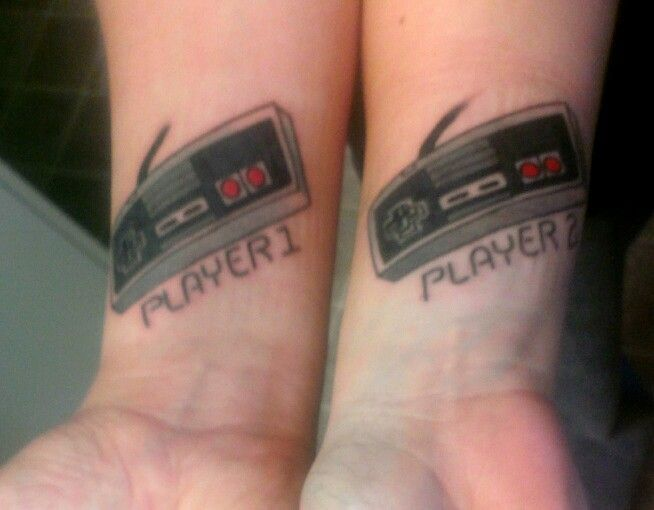 14 best images about player 1 player 2 tattoo on pinterest for Eight ball tattoo removal