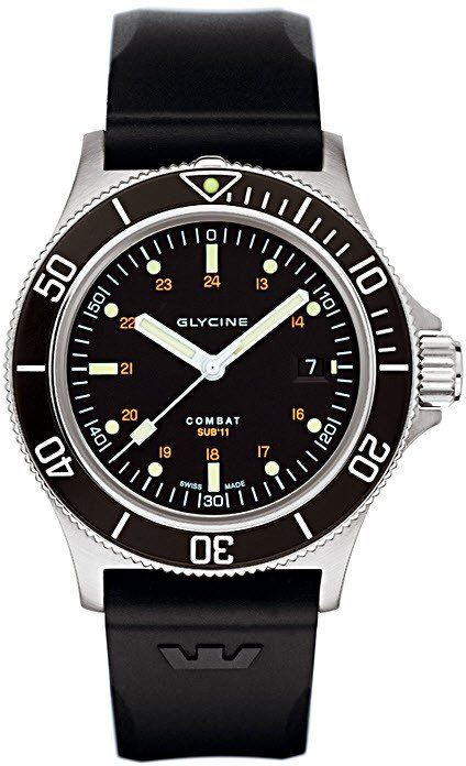 Glycine Watch Combat Sub Automatic #bezel-unidirectional #bracelet-strap-rubber #brand-glycine #case-depth-10-6mm #case-material-steel #case-width-42mm #date-yes #delivery-timescale-4-7-days #dial-colour-black #gender-mens #luxury #movement-automatic #official-stockist-for-glycine-watches #packaging-glycine-watch-packaging #style-dress #subcat-combat #supplier-model-no-3863-196-n-d9 #warranty-glycine-official-2-year-guarantee #water-resistant-200m