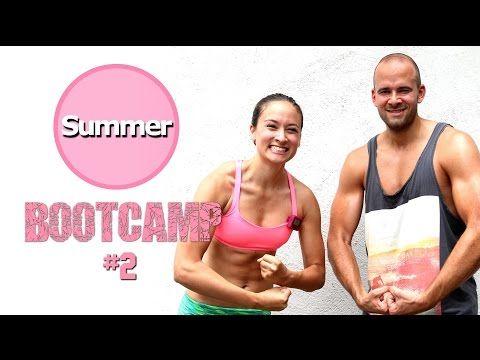 20 Min Live Workout - Beste Übungen den ganzen Körper - Sommer Bootcamp #2 - YouTube