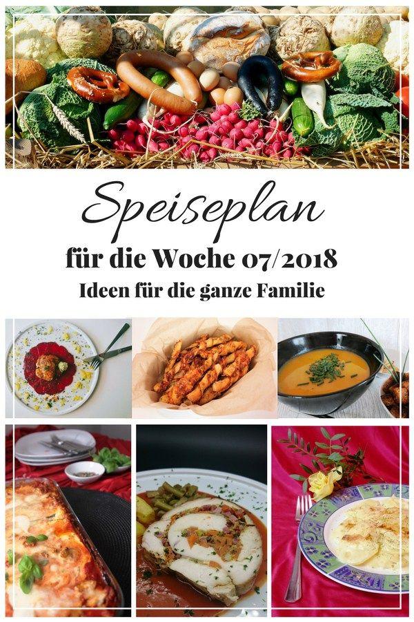 Keine Idee was du kochen könntest? Bei mir findest du jeden Freiteag einen neuen Wochenplan, denn du übernehmen oder als Inspiration für deinen Speiseplan nutzen kannst. Hier ist der aktuelle Wochenplan für die Woche 07/2018.