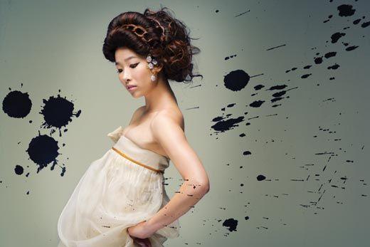 한복 디자이너 이영희 작. CREATE 2008 F/W Trend  그리에이트 제공. 절재絶才, 지조志操, 단아端雅, 매혹魅惑.