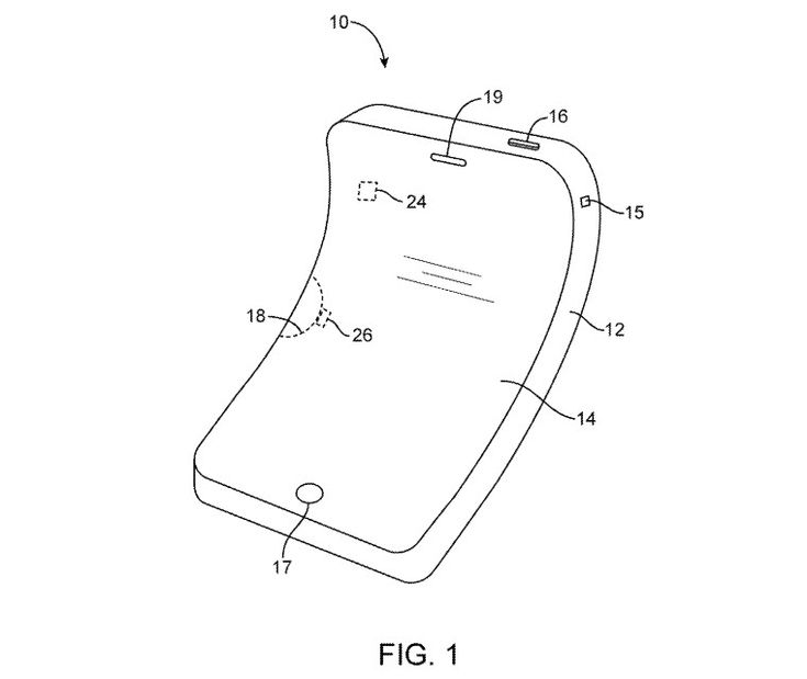 Apple Wins Patent for Flexible OLED iPhone Display