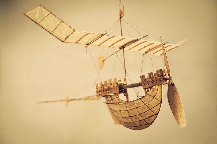 幻想的でステキ!まるでジブリアニメの様な飛行船を作り続けるお爺さんとは?