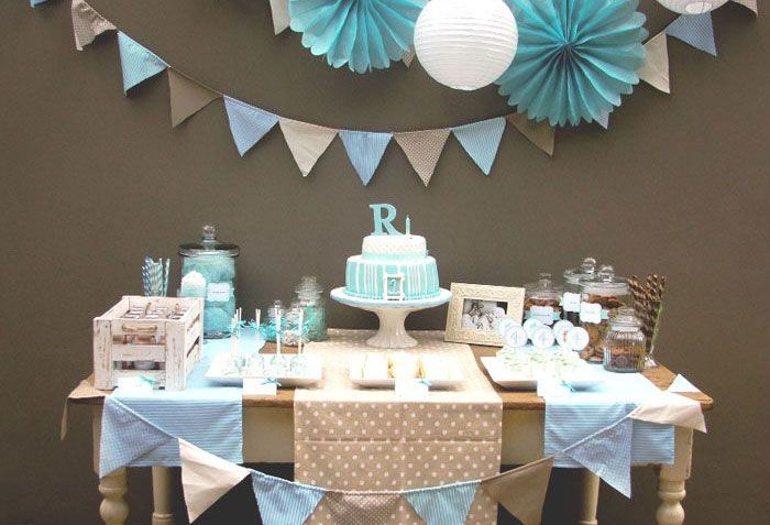 Image result for decoracion sencilla de baby shower