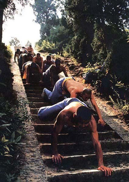 Shaolin Kung Fu, stairs training
