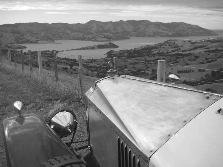 On the Banks Peninsula - NZ