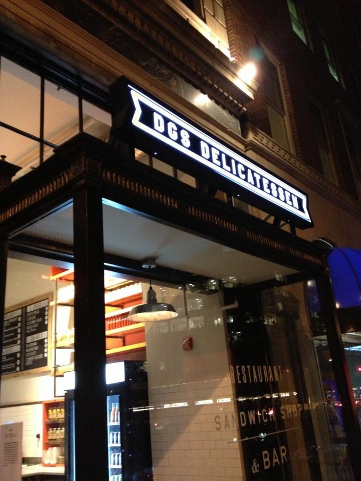 Washington Dc Popout Map%0A DGS Delicatessen in Dupont Circle  DC  Amazing sounding Jewish food