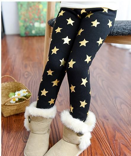 Winter Pants With Stars