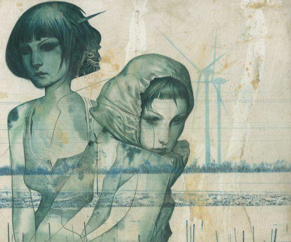 """Nymphs IV"" by João Ruas"