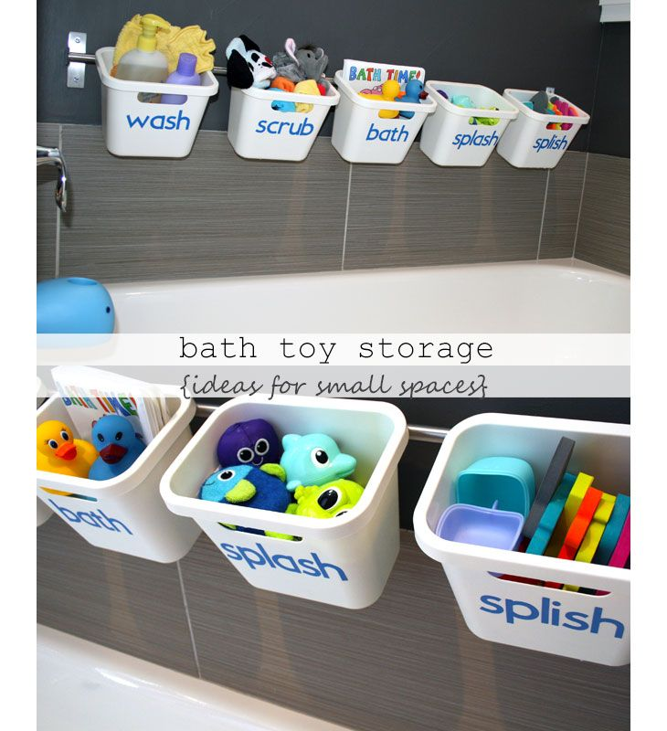 25 Small Apartment Decorating Ideas On A Budget Bath Toys Bath Toy Storage And Toy Storage