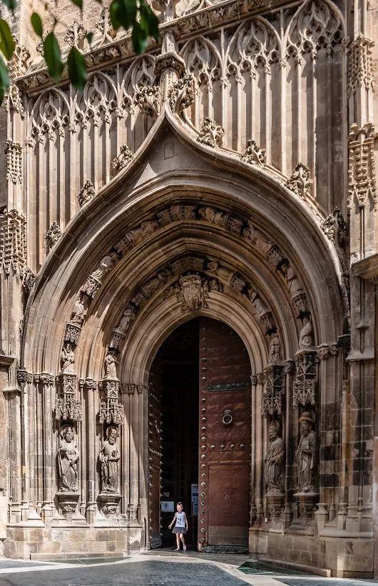 Spain,  Catedral de Murcia , Puerta de Santigo
