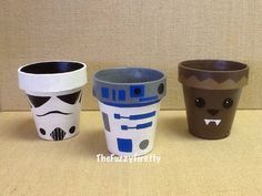 Set of 3 Star Wars Inspired Party Favors,Storm Trooper,Chewbacca,Princess,R2D2,Birthday Decoration, Baby Shower Decor, Party Favor by TheFuzzyFirefly on Etsy https://www.etsy.com/listing/400383235/set-of-3-star-wars-inspired-party