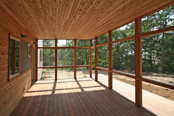 Peconic bay house resolution 4 architecture for Prefab screen porch