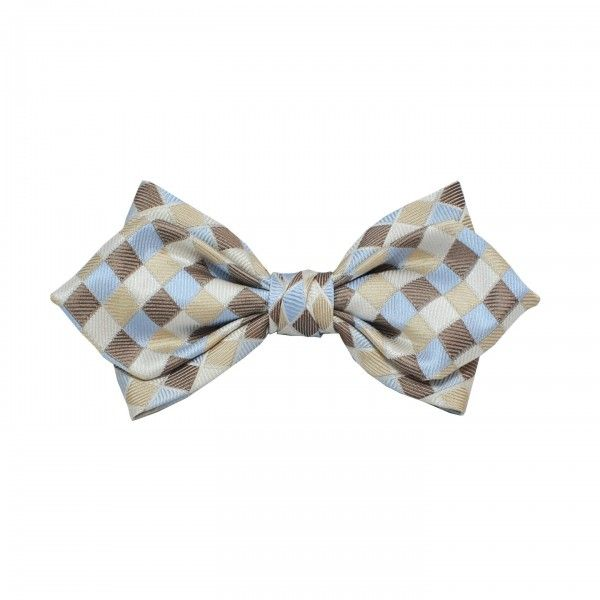 Playful and funny bow ties for men and women on www.bohema.me #checkered #diamond #bow #ties #men's #fashion #accessories #handcrafted #blackfriday