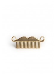 Mustache Comb Ring  $12.00