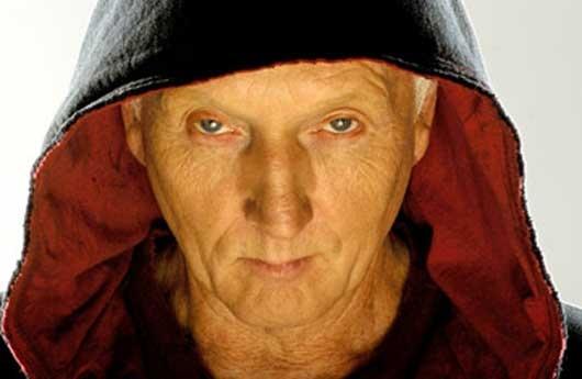 John Kramer [a.k.a. Jigsaw] (from Saw, 2004). Portrayed by Tobin Bell