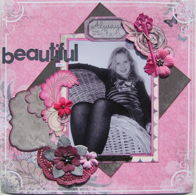 Scrap4fun Scrapbookatelier: Bo Bunny - Isabella- geplaatst door Paula
