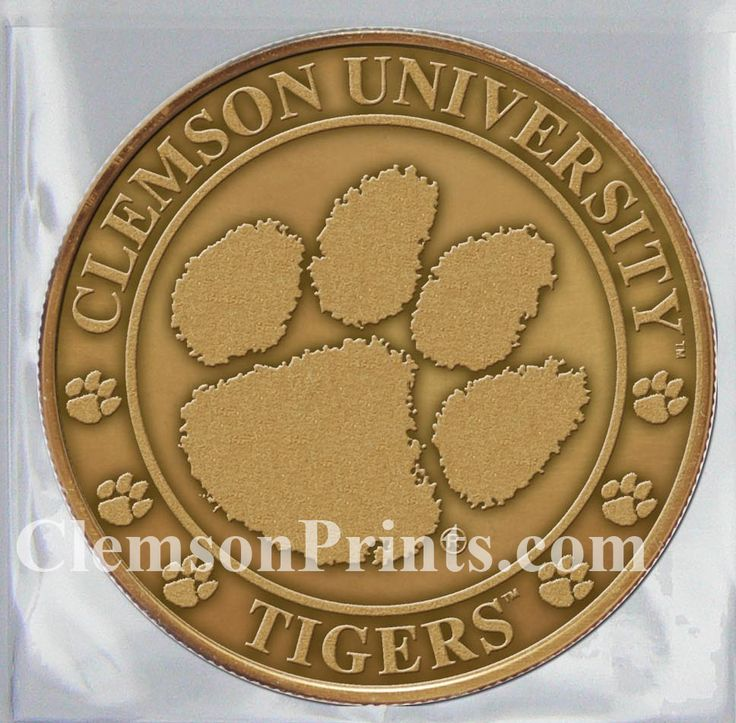 ClemsonPrints - 2016 Clemson Football Schedule Coin, $15.00 (http://clemsonprints.com/2016-clemson-football-schedule-coin/)