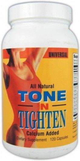 Жиросжигатель. Universal TONE N TIGHTEN - 120 капс. Специальный сжигатель жира, разработанный чтобы помочь женщинам почувствовать все преимущества красивой, стройной фигуры. Tone N Tighten поможет избавится от лишнего веса, особенно при соблюдении разумной программы питания и тренировок.